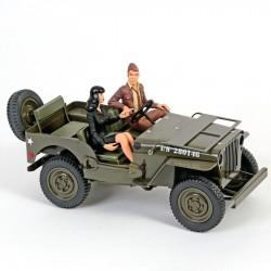Aroutcheff Berthet Pin-up - Jeep Willys