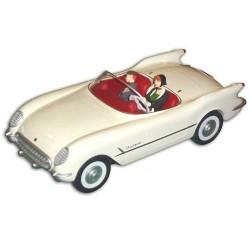Aroutcheff Berthet Pin-up - Chevrolet Corvette 1953 (BD3D)