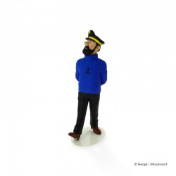 Figurine Moulinsart Tintin - Haddock (Musée Imaginaire)