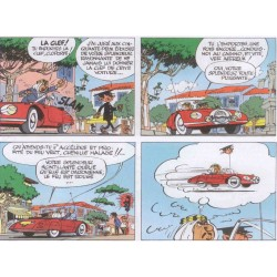 "Véhicule Franquin Spirou - ""Garage de Franquin"" Turbot Rhino rouge"