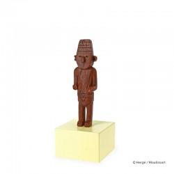 Figurine Moulinsart Tintin - Fétiche Arumbaya (Musée Imaginaire)