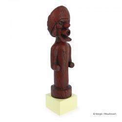 Figurine Moulinsart Tintin - Totem du Chevalier de Hadoque (Musée Imaginaire)