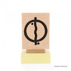 Figurine Moulinsart Tintin - Chorten Tibétain (Musée Imaginaire)
