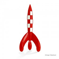 Figurine Moulinsart Tintin - Fusée lunaire 90 cm