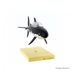 Figurine Moulinsart Tintin - Le sous marin Requin (Icônes)