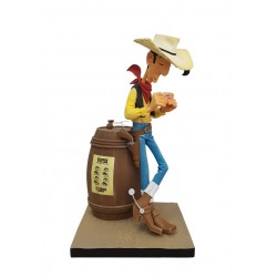 Fariboles Morris Lucky Luke - Lucky Luke sur le tonneau (Aladin)