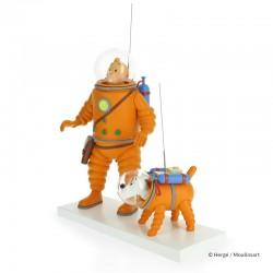 Fariboles Moulinsart Tintin - Tintin et Milou cosmonaute