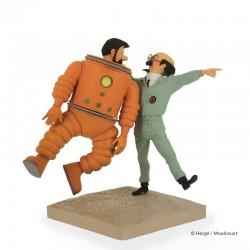Fariboles Moulinsart Tintin - Haddock et Tournesol Objectif Lune