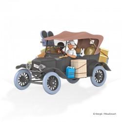 Véhicule Moulinsart Tintin - La Ford T noire Congo (Echelle 1/24)