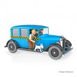 Véhicule Moulinsart Tintin - Le taxi de Chicago Amérique (Echelle 1/24)