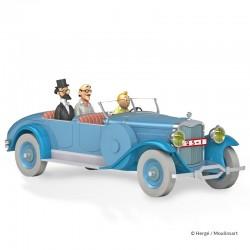 Véhicule Moulinsart Tintin - La Lincoln Torpedo du Dr Finney Cigares (Echelle 1/24)
