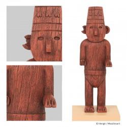 Figurine Moulinsart Tintin - Le fétiche Arumbaya (Icônes)