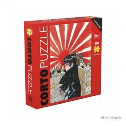 Puzzle Corto Maltèse - Puzzle La Jeunesse 1985 (500 pièces)