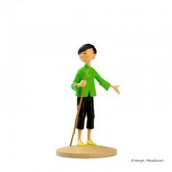 Figurine Moulinsart Tintin - Tchang indique Hou Kou (12 cm)