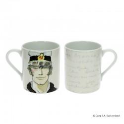 "Pratt Corto Maltèse - Mug Corto ""Portrait Aquarelle"""