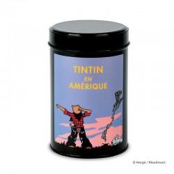"""Moulinsart Tintin - Boîte à café Amérique """"Réveil"""""""