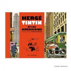 Livre Moulinsart Tintin - Hergé, Tintin et les Américains
