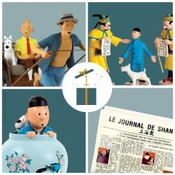 Pixi Moulinsart Tintin - Potiche Lotus Bleu Regout