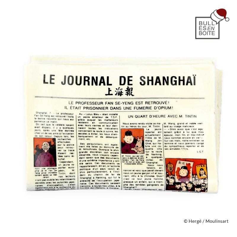 Pixi Moulinsart Tintin - Objet du Mythe - Journal de Shanghaï