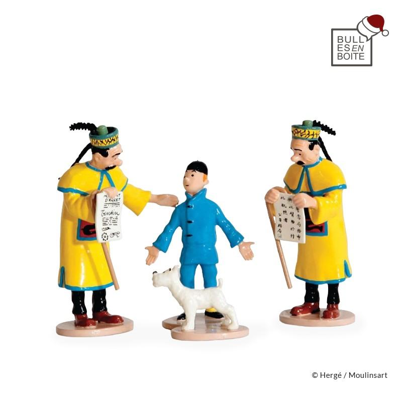 Pixi Moulinsart Tintin - Scène du Mandat d'arrêt