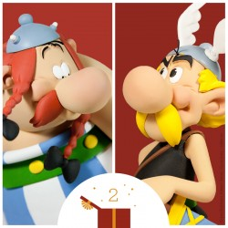 Pixi Uderzo Astérix - Panoramix et sa charette