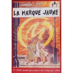 Plaque émaillée Blake & Mortimer - Marque Jaune Projet 41x61