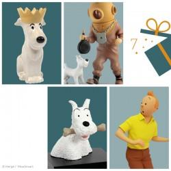 La Chaise Longue Moulinsart Tintin - Coquetier Milou roi
