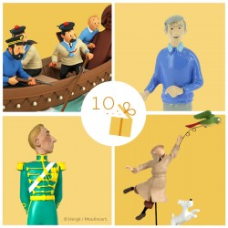 Leblon Moulinsart Tintin - Tintin et Milou Perroquet