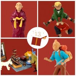 Pixi Moulinsart Tintin - Tintin et Milou marché aux puces