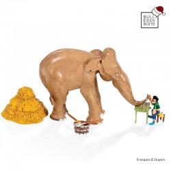 Pixi Franquin Gaston - Le bras de fer de Gaston et l'éléphant Maharadja