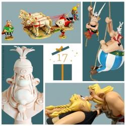 Pixi Uderzo Astérix - Goudurix sautant de son char