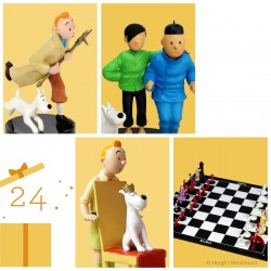 "Leblon Moulinsart Tintin - Tintin et Tchang ""La Fraternité"""