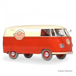 Véhicule Moulinsart Tintin - La camionnette Sanzot (Echelle 1/24)