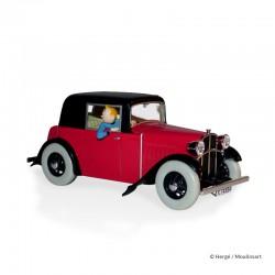Véhicule Moulinsart Tintin - La Rosengart de l'évasion (Echelle 1/24)