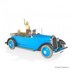 Véhicule Moulinsart Tintin - La Limousine de parade (Echelle 1/24)