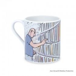 Moebius Jean Giraud - Mug Bibliothèque
