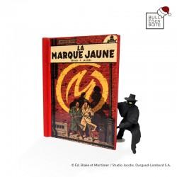 """Pixi Jacobs Blake et Mortimer - La Marque Jaune """"Echappées Bulles"""" Pages 24 et 25"""