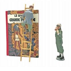 """Pixi Jacobs Blake et Mortimer - Le Mystère de la Grande Pyramide T1 """"Echappées Bulles"""""""