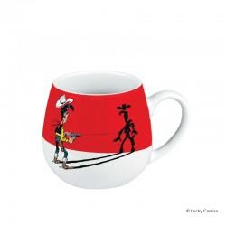 Koenitz Morris Lucky Luke - Mug LL tire plus vite que son ombre (shadow)