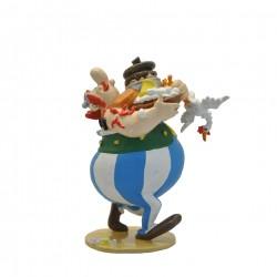 Pixi Uderzo Astérix - Obélix portant des vivres