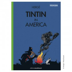 Livre Moulinsart Tintin - Album Tintin in America colorized (Campfire)