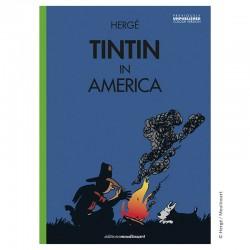 Livre Moulinsart Tintin - Album Tintin in America colorized (Campfire)
