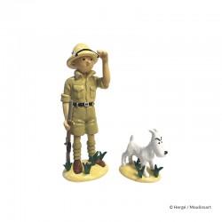Moulinsart Tintin - Tintin et Milou au Congo VO