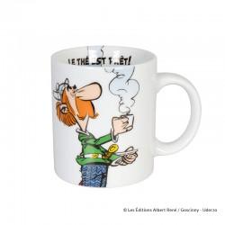 "Koenitz Uderzo Astérix - Mug Astérix et Obélix ""Le thé est prêt!"""
