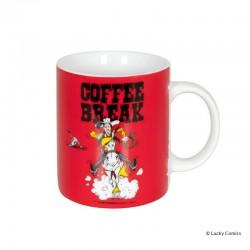 """Koenitz Morris Lucky Luke - Mug Lucky Luke """"Coffee break"""""""