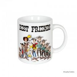 """Koenitz Morris Lucky Luke - Mug Lucky Luke """"Best friends"""""""