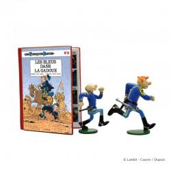 """Pixi Lambil Tuniques Bleues - Les Bleus dans la gadoue """"Echappées Bulles"""""""