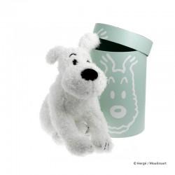 Peluche Moulinsart Tintin - Peluche Milou souple 37cm + boîte