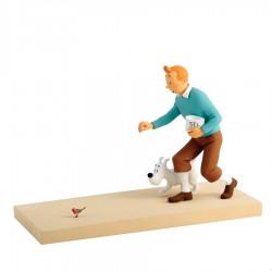 "Fariboles Moulinsart Tintin - Tintin et Milou ""Le Rouge-Gorge"""