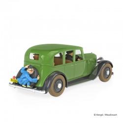 Véhicule Moulinsart Tintin - La voiture de Mitsuhirato (Echelle 1/24)